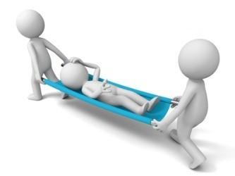 Подготовить больного к перевозке