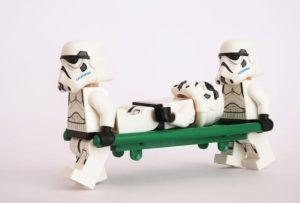 Транспортировка лежачего пациента по городу